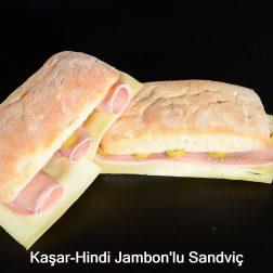 Kaşar-Hindi Jambonlu Sandviç-2
