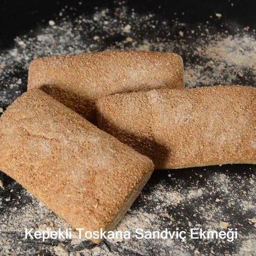 Kepekli Toskana Sandviç Ekmeği