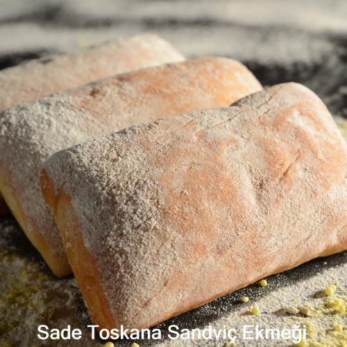Sade Toskana Sandviç Ekmeği