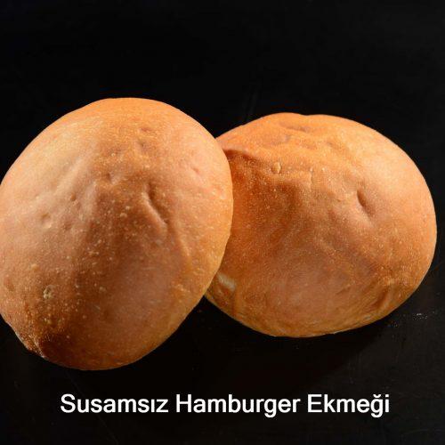 Susamsız Hamburger Ekmeği