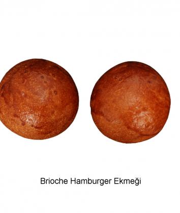 Brioche Hamburger Ekmeği
