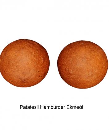 Patatesli Hamburger Ekmeği